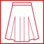 学生スカート