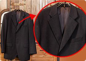 「ラぺルはジャケットの顔」立体的なラインこそ、上質の証