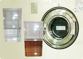 クリーニングで使う溶剤は常に新品のものを使用します