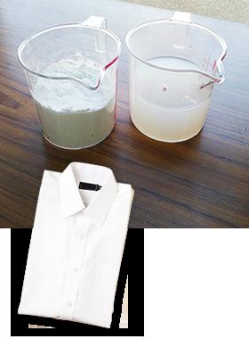 洗うたびにしなやかさUP天然のり&シリコン配合の柔軟剤を使用
